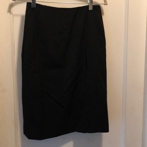 Women's Vintage Chanel black skirt